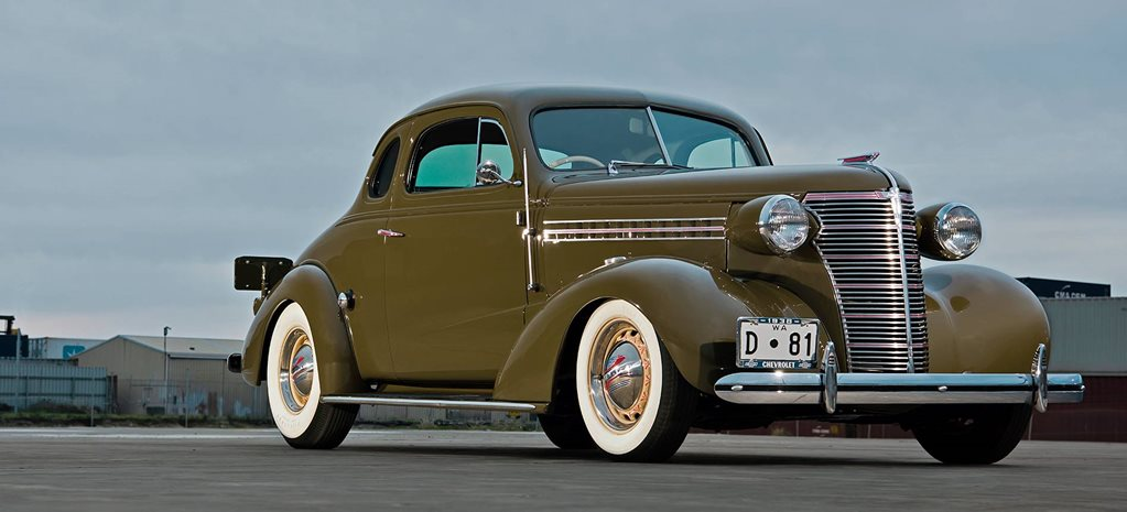 Restorod 1938 Chevrolet coupe