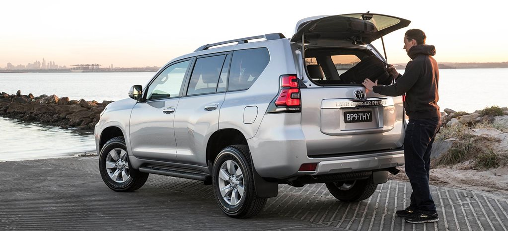Toyota Prado new options DPF switch news