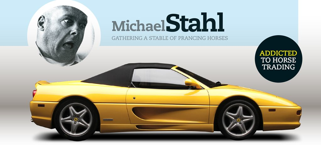 Michael Stahl on gathering a stable of prancing horses