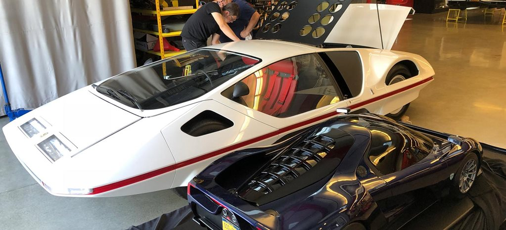 Ferrari 512S Modulo concept Pebble Beach news