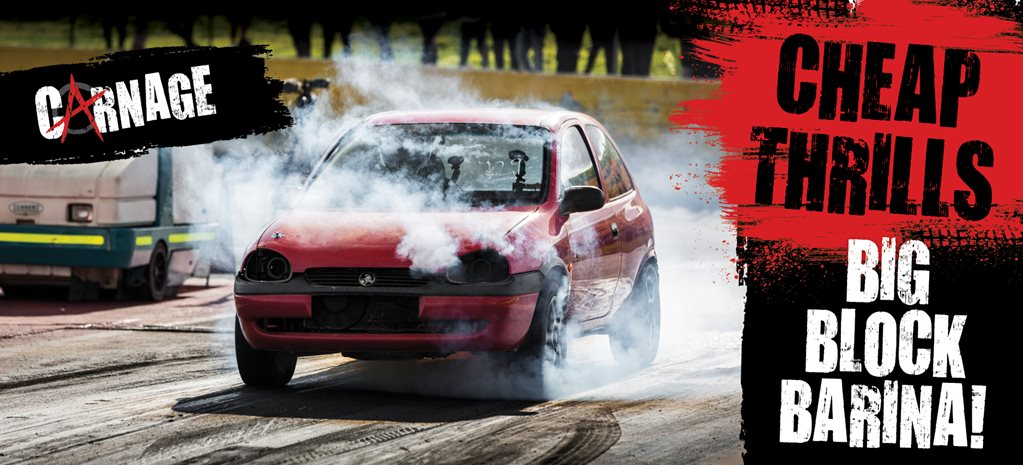 Carnage: We race a Holden… Barina