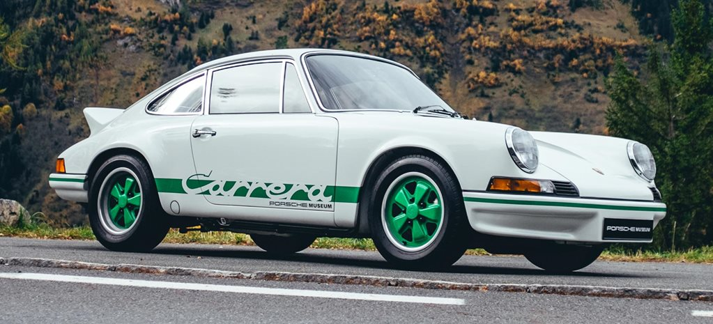 1972 Porsche 911 Carrera RS 2.7 The Five Greatest 911s feature