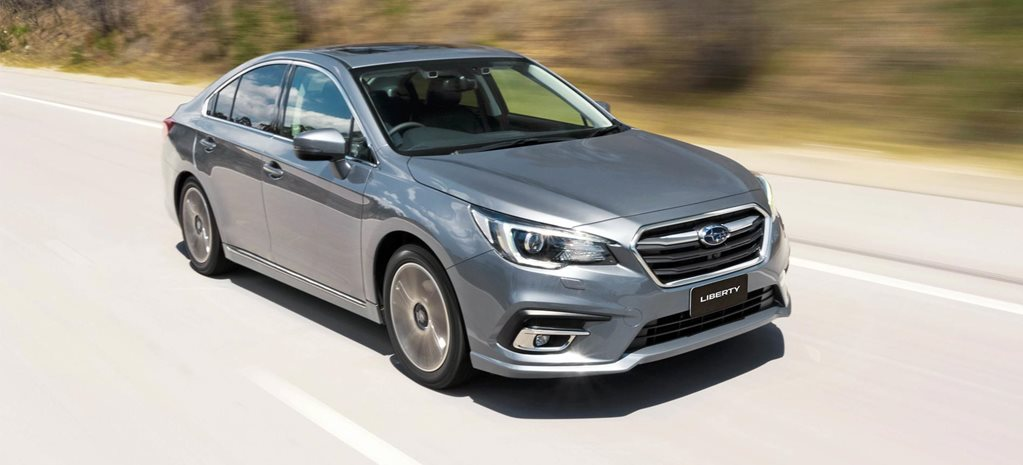 2018 Subaru Liberty 3.6R quick performance