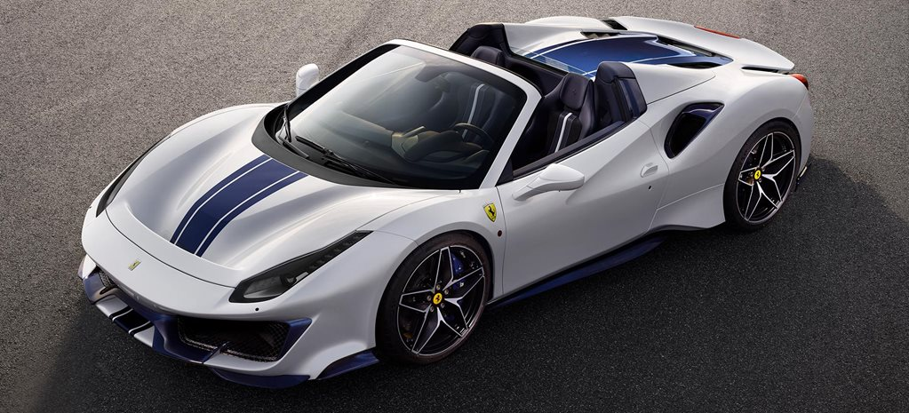2019 Ferrari 488 Pista Spider revealed at Pebble Beach news