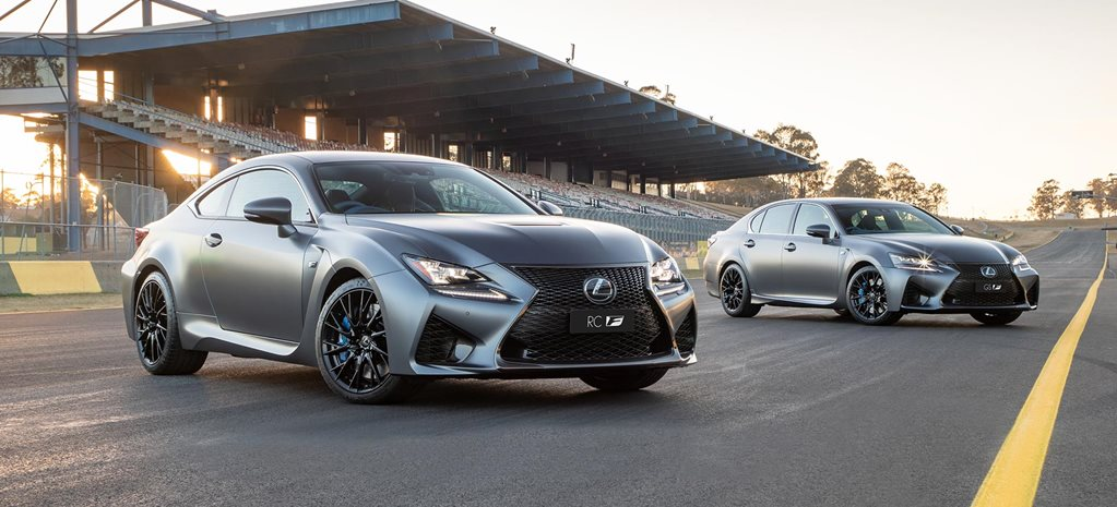 Lexus RC F GS F 10th anniversary models news