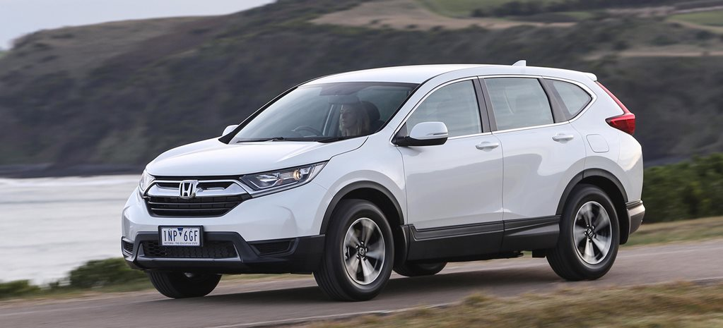 Honda CR V update