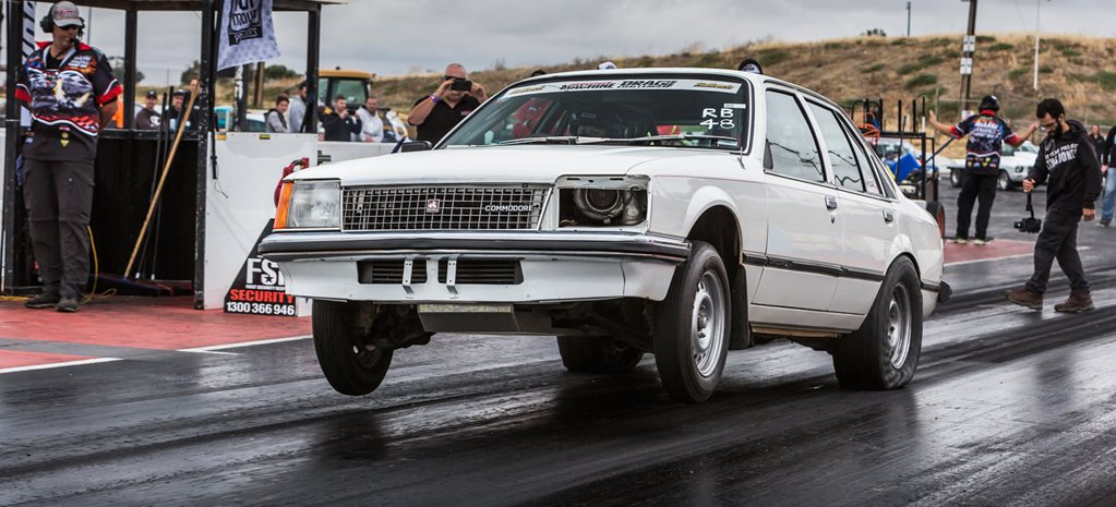 Nine-second sleeper VC Commodore coming to Drag Challenge