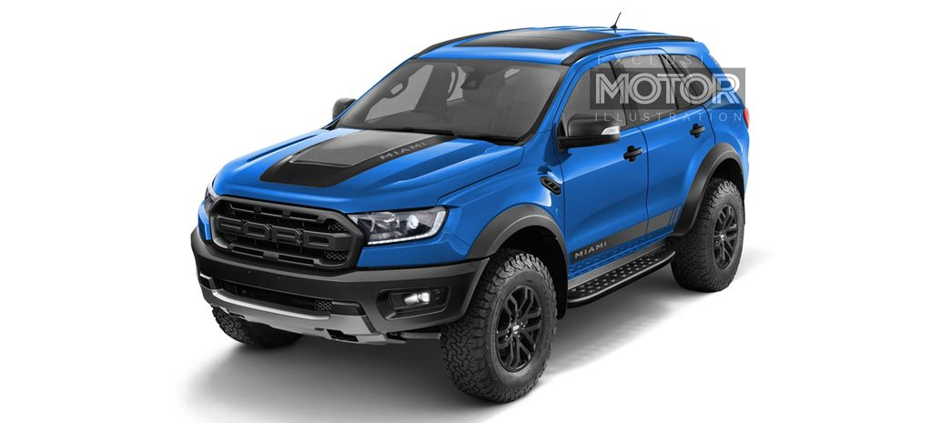 Ford Everest Raptor 'Miami': Sweet Dream