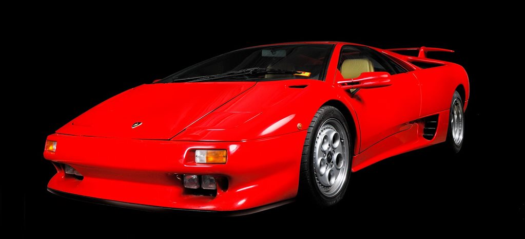 1990 Lamborghini Diablo Legend Series feature