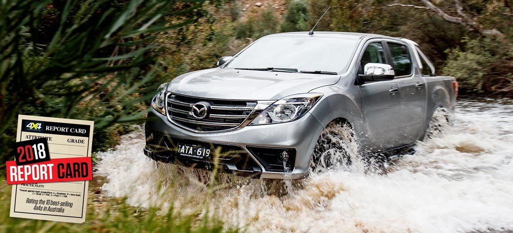 Mid-2018 4x4 Sales Report Card Mazda BT-50 feature