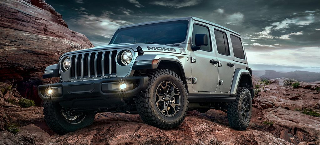 Jeep Wrangler Moab Edition introduced USA news