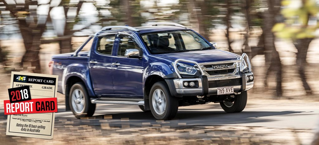 Mid-2018 4x4 Sales Report Card Isuzu D-Max review