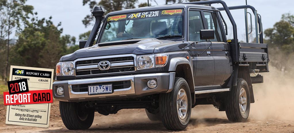 Mid-2018 4x4 Sales Report Card Toyota Land Cruiser 79 Series review