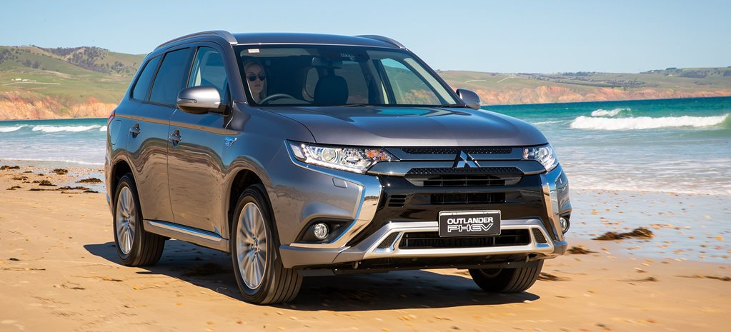 2019 Mitsubishi Outlander Plug-in Hybrid range updated