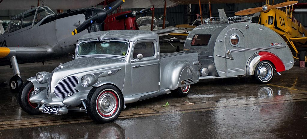 Bluey Boxsell's custom 1935 Airborne Eight pick-up