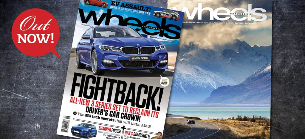 BMW's new 3 Series at full throttle to reclaim its driver's car crown: Wheels magazine preview – September 2018