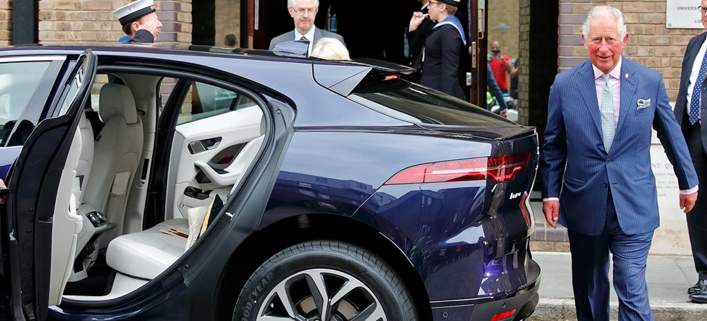 Prince Charles buys Jaguar I-Pace and launches the Royals into the electric car era