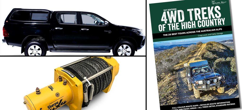 New 4x4 Gear: Sherpa winch, Sammitr ute canopy, 4WD Treks guide