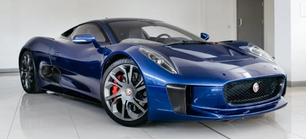 2016 Jaguar C-X75 Spectre stunt car sale news