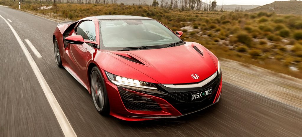 2018 Honda NSX performance review feature