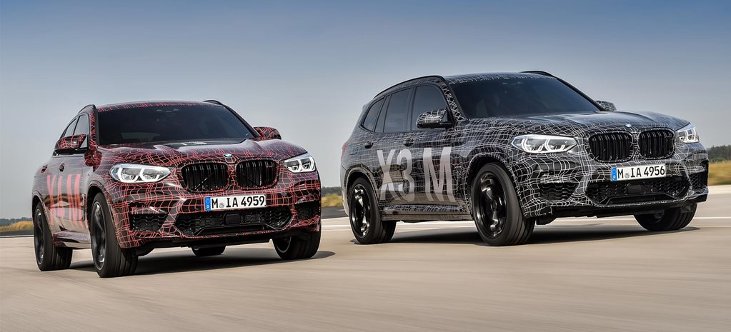 2019 BMW X3 M and X4 M announced news
