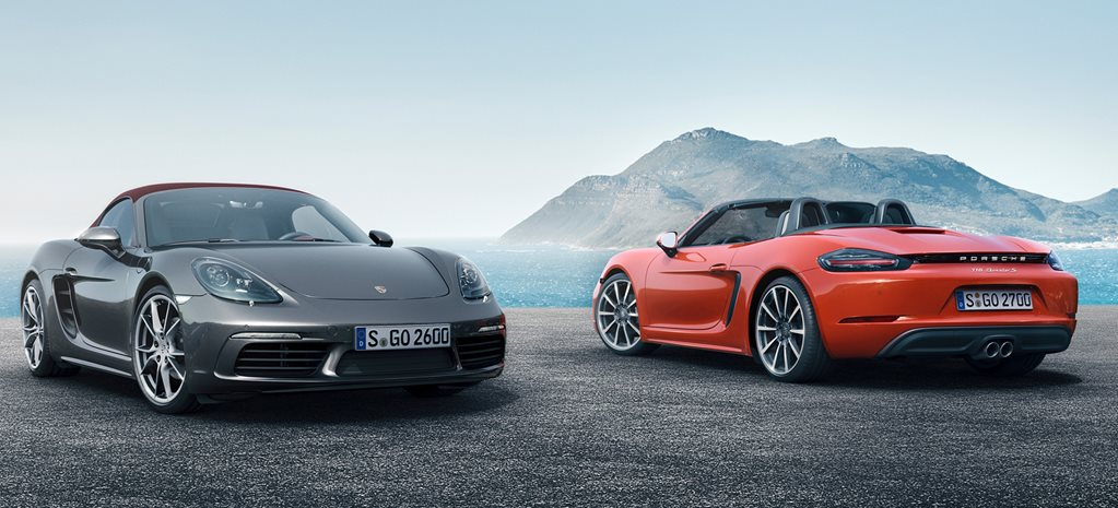 95f1fef177e1 Porsche 718 Boxster and Cayman updated for 2019
