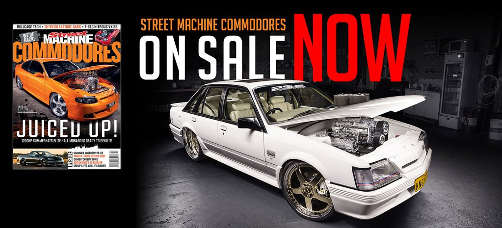 STREET MACHINE COMMODORES IS BACK!