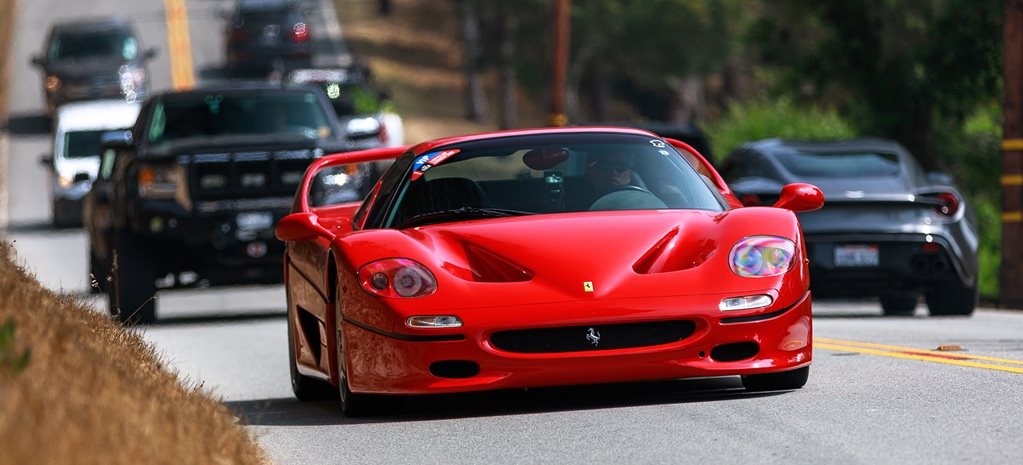 Monterey Car Week is like Forza Horizon in real life