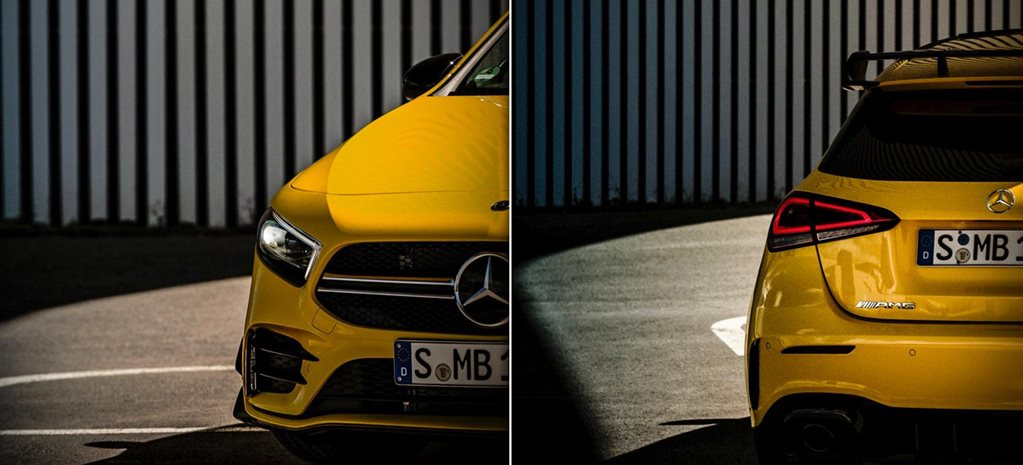 2019 Mercedes-AMG A35 teased ahead of reveal news