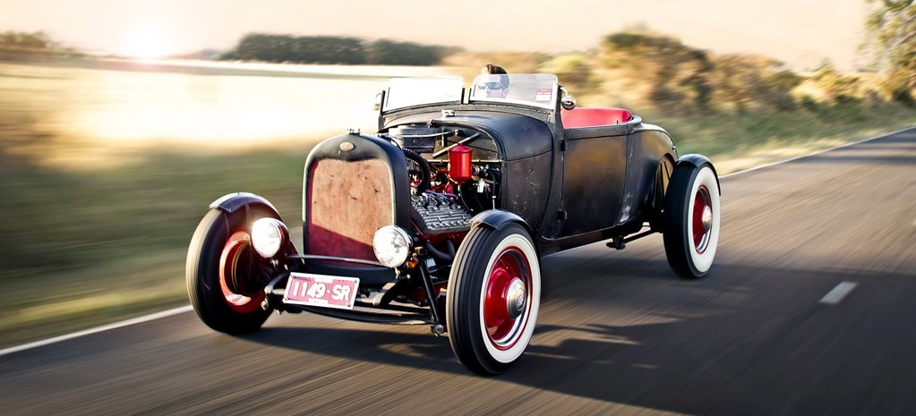 Glenn Etchell's 1928 Ford Model A roadster
