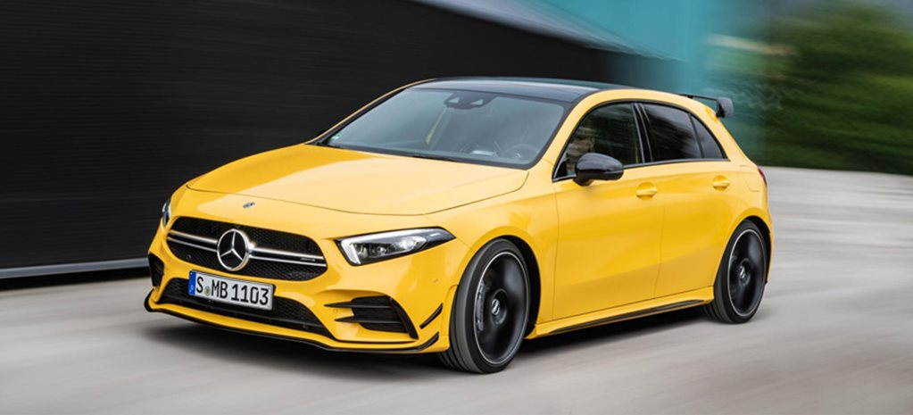 2019 Mercedes-Benz A35 AMG revealed news