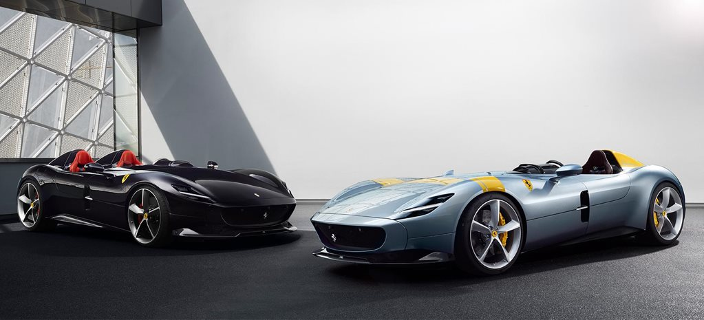 Ferrari Monza SP1 and SP2 revealed news
