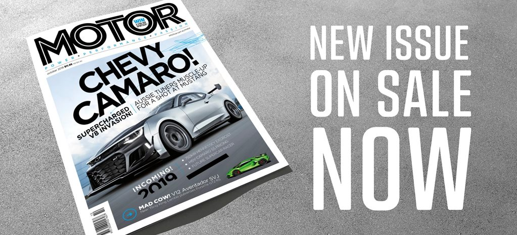 MOTOR Magazine October 2018 issue preview