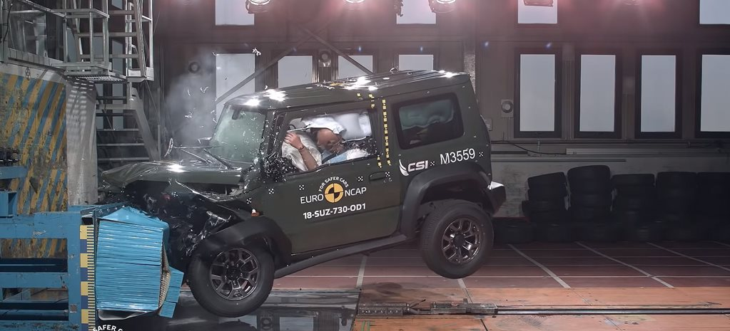 2018 Suzuki Jimny handed worst rating of new Euro NCAP crash test scheme