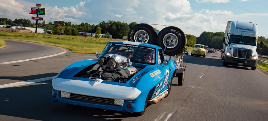 Dave Schroeder's 1966 Chevrolet Corvette - Drag Week nitrous weapon