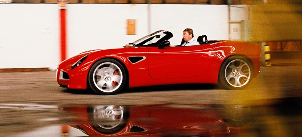 2006 Alfa Romeo 8C Spider prototype review