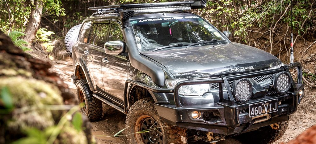 Custom Mitsubishi Challenger review feature