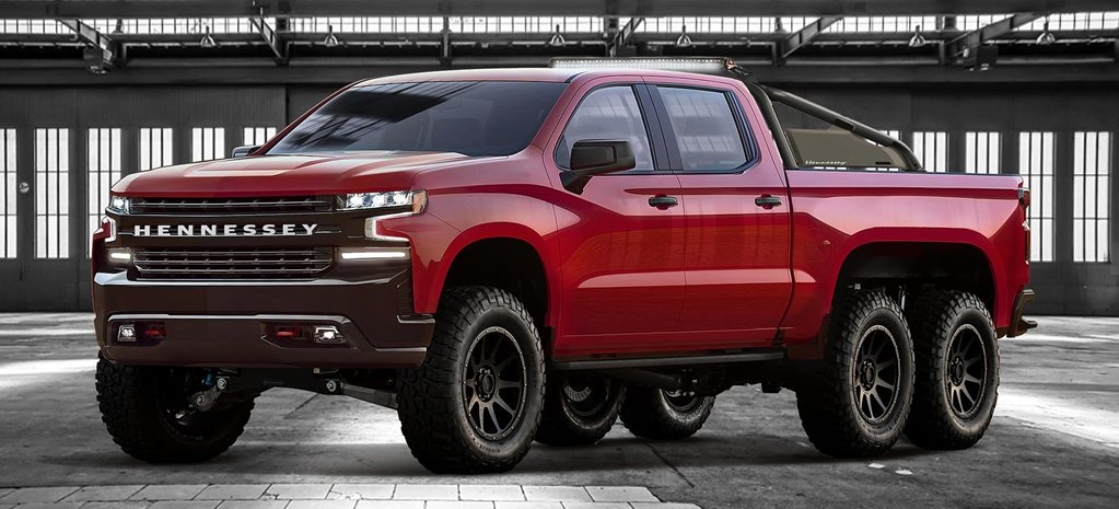 Hennessey 6x6 Goliath stretches the Silverado news