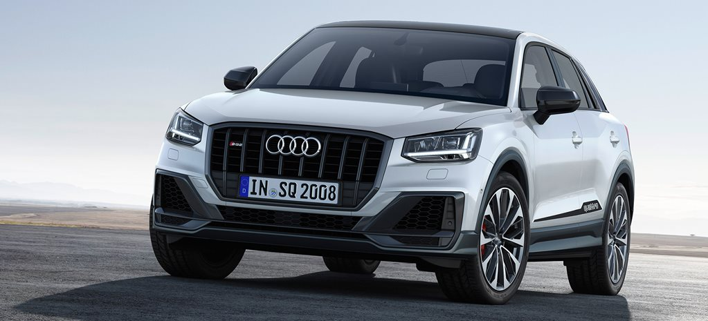Audi SQ2 compact SUV revealed, boasting Porsche-shaming speed