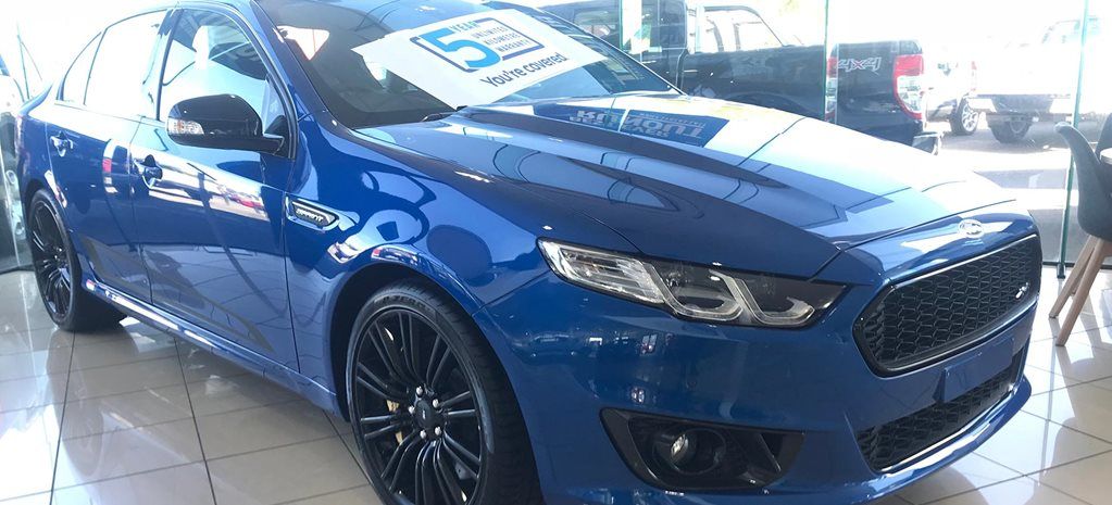 Final Ford Falcon sold become GT Holy Grail news