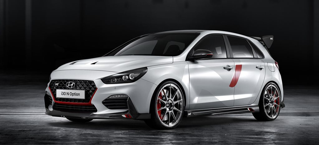 Hyundai N Option performance parts revealed 2018 Paris Motor Show news
