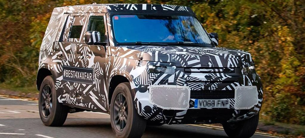 2020 Land Rover Defender replacement breaks cover news