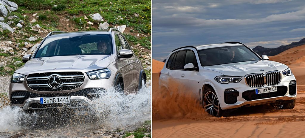 German luxury SUVs think about getting dirty news