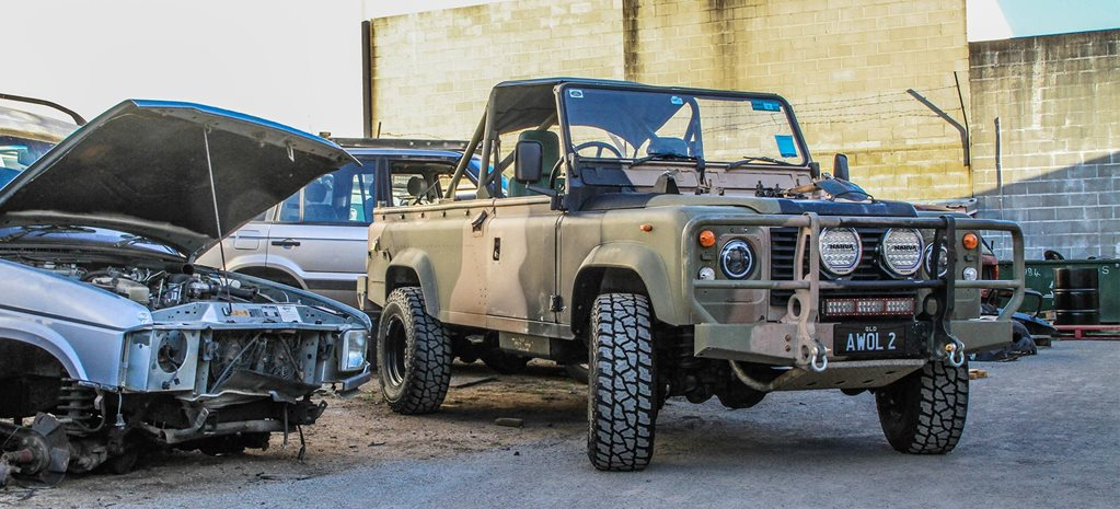 1988 Land Rover Perentie Defender 110 long-term review part 3 4x4 Shed feature