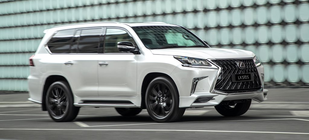 2018 Lexus LX 570 S flagship revealed