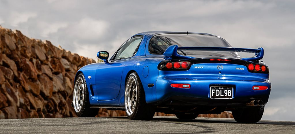 L98-powered Mazda RX-7
