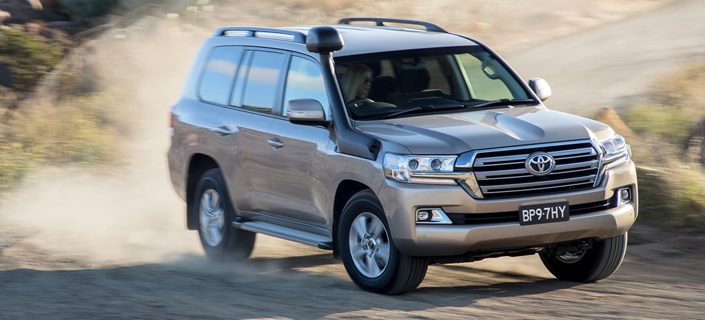 2019 Toyota Landcruiser 200 updated