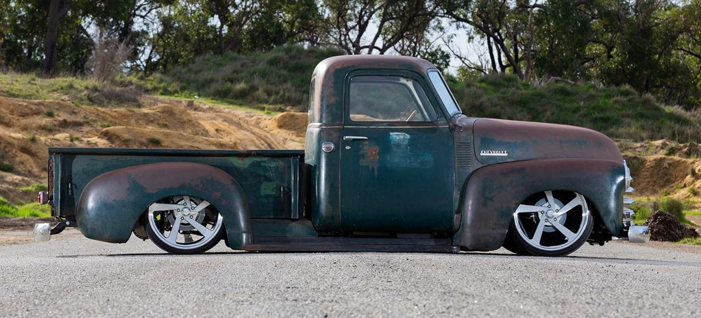 Slammed LS3-powered 1951 Chevrolet 3100 pick-up