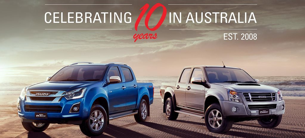 Isuzu Ute Australia celebrates major milestone news
