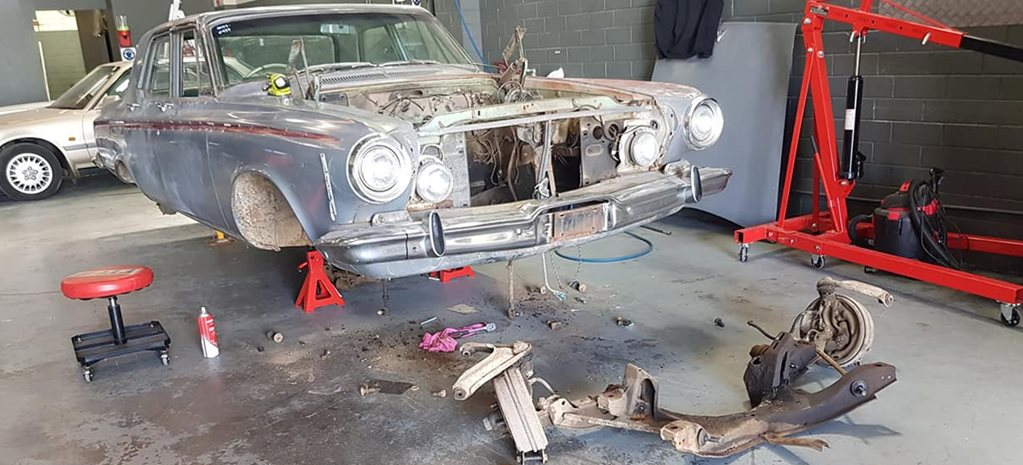 Mr Dodgey 1963 Dodge Phoenix Carnage project